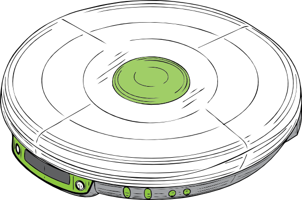 free vector Cd Walkman clip art