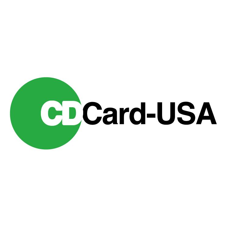 free vector Cdcard usa