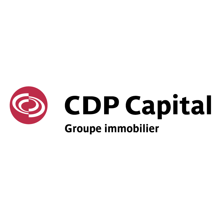 free vector Cdp capital groupe immobilier