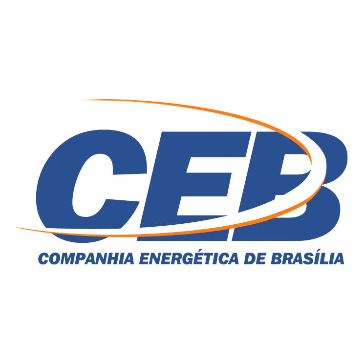 free vector Ceb companhia energitica de brasilia