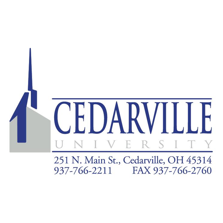 free vector Cedarville university 0