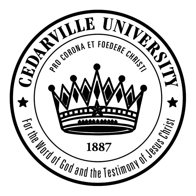 free vector Cedarville university
