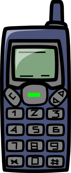 free vector Cell Phone clip art