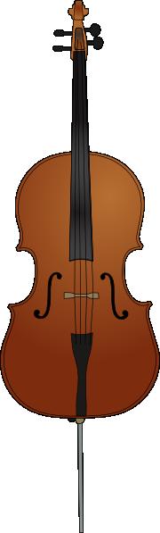 free vector Cello clip art