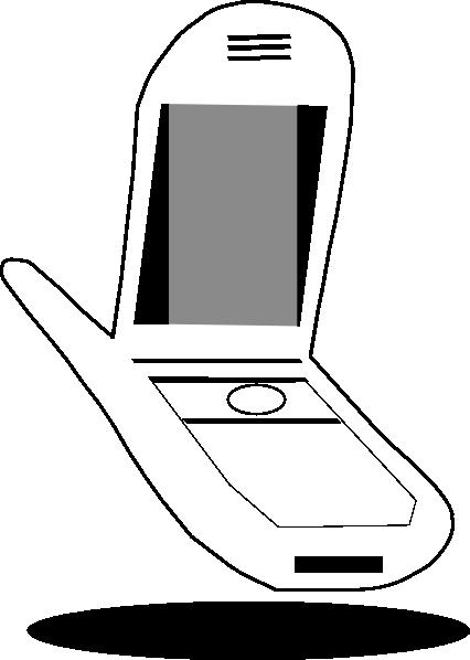 free vector Cellphone clip art