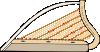 free vector Celtic Harp clip art