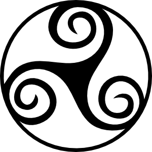 free vector Celtic Triskell clip art