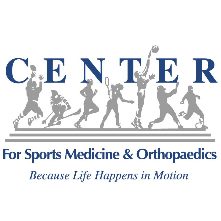 free vector Center for sports medicine and orthopaedics