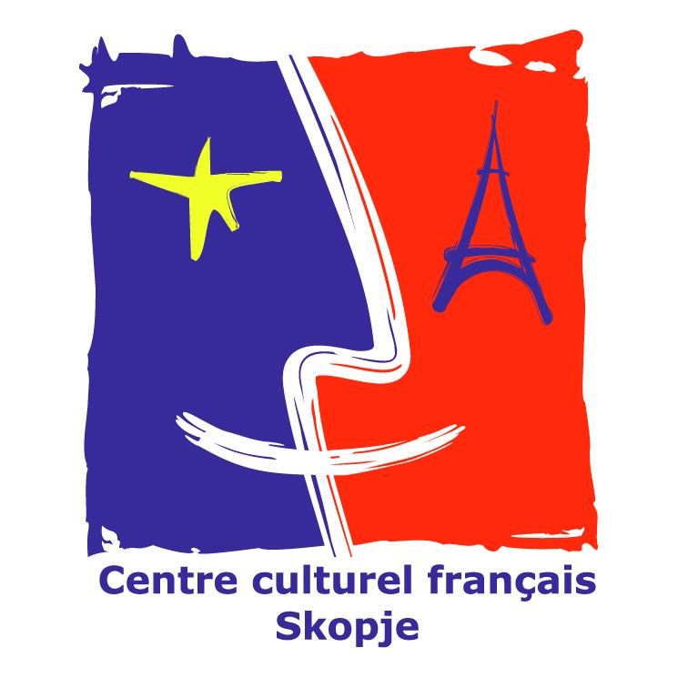 free vector Centre culturel francais de skopje