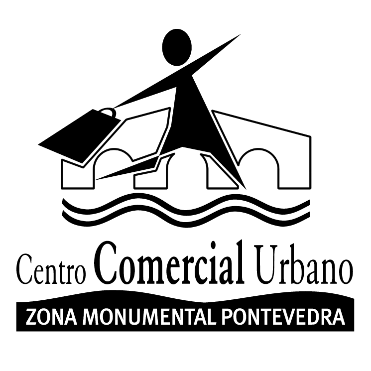free vector Centro comercial urbano