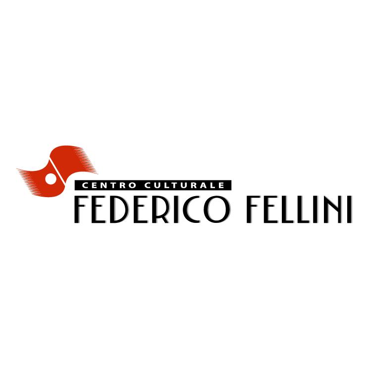 free vector Centro culturale federico fellini