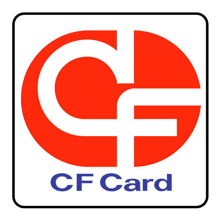free vector Cf card