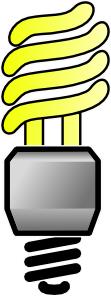 free vector Cfbulb-lit clip art