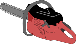 free vector Chainsaw Gas clip art