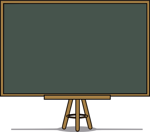 free vector Chalk Board  clip art