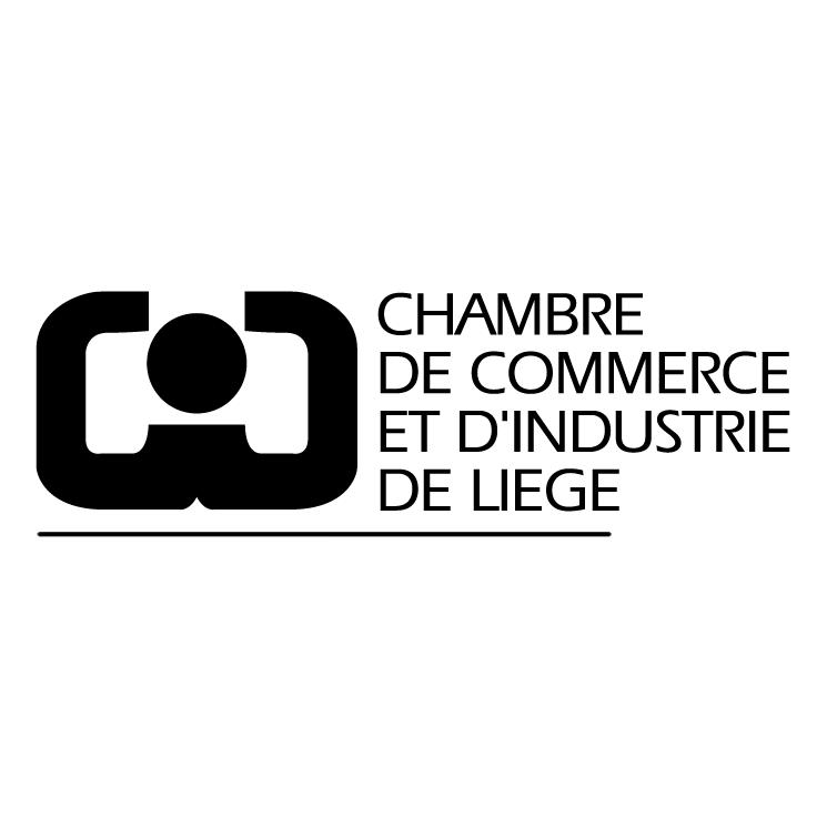 free vector Chambre de commerce et dindustrie de liege