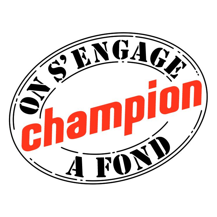 free vector Champion 5