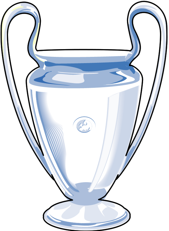 Champions League Trophy Vector Champions leaug...