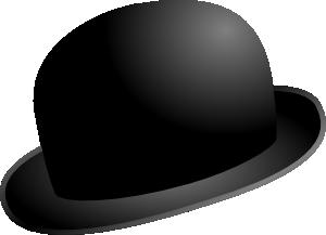 free vector Chaplinbowler clip art