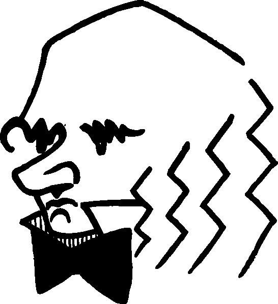 free vector Charles Darwin clip art