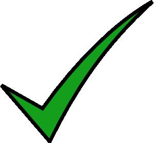free vector Check Mark clip art 116867