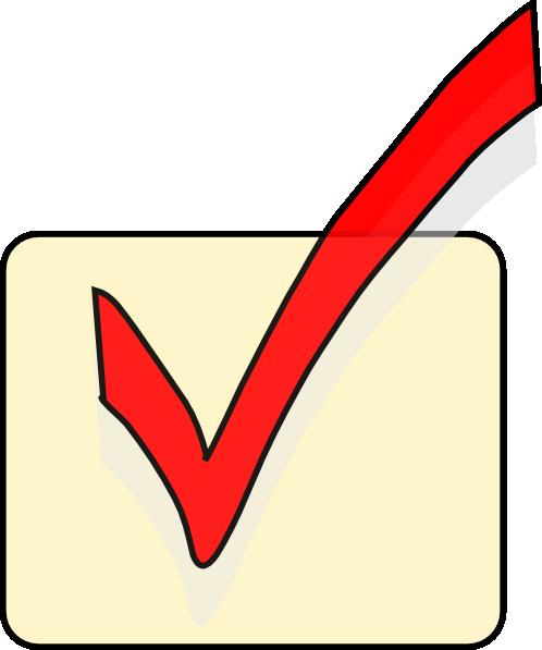 free vector Checkbox clip art