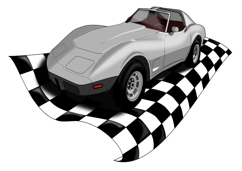 free vector Checkervette