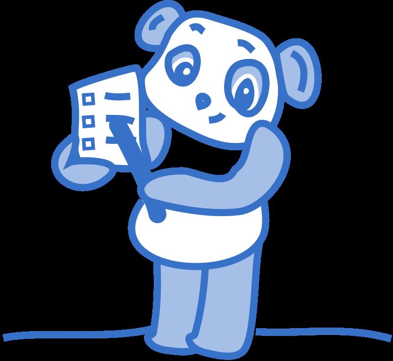 free vector Checklistpanda