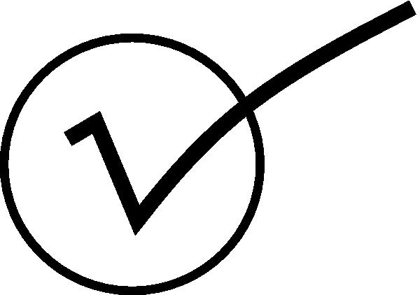 free vector Checkmark clip art