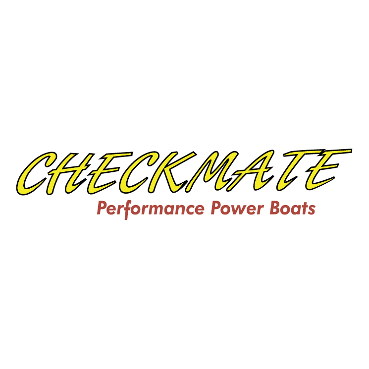 free vector Checkmate power boats