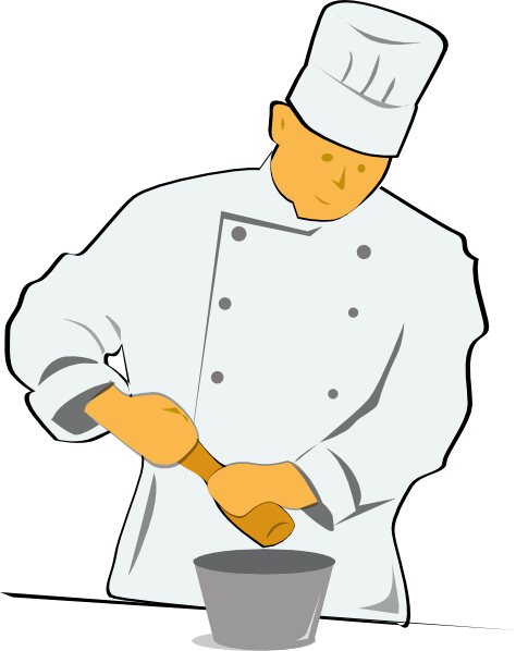 Chef Cooking Clip Art Free vector chef clip art