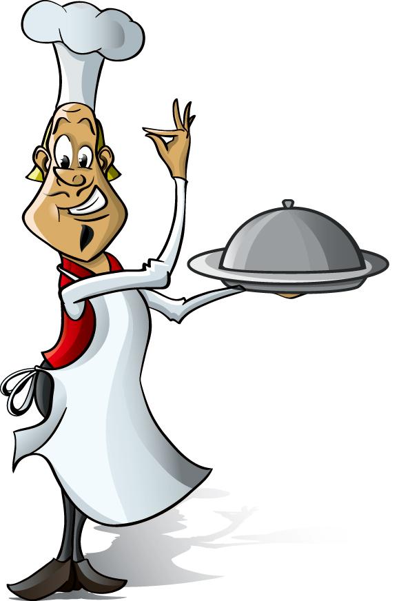 free vector Chef series vector