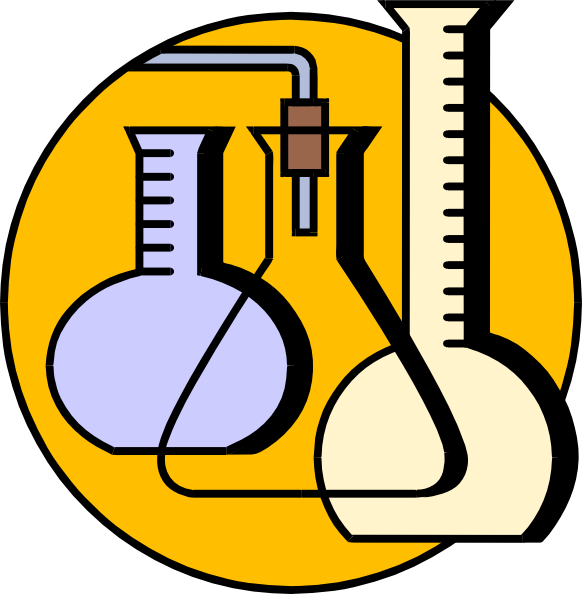 free vector Chemical Lab Flasks clip art