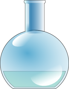 free vector Chemistry Lab Flask clip art