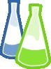 free vector Chemistry Lab Flasks clip art