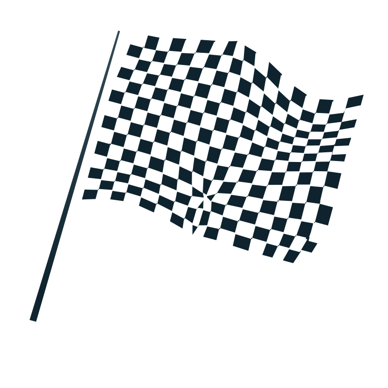 Chequered flag icon free vector 4vector for Set de table plastique transparent
