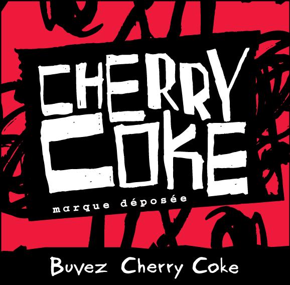 free vector Cherry Coke logo