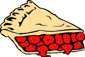 free vector Cherry Pie clip art