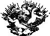 free vector Cherubs In Cloud clip art