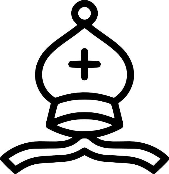 Bishop Hat Clipart Fre...