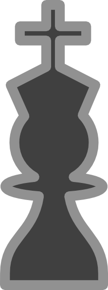 free vector Chess King Black clip art
