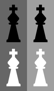 free vector Chess King clip art
