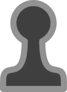 free vector Chess Pawn Black clip art
