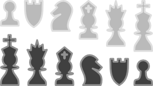 free vector Chess Pieces Gallery clip art