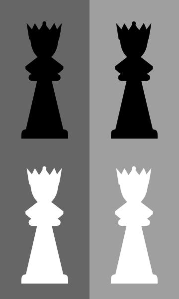 free vector Chess Set Queen clip art