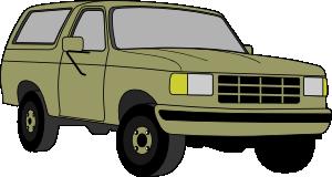 free vector Chevrolet Blazer clip art