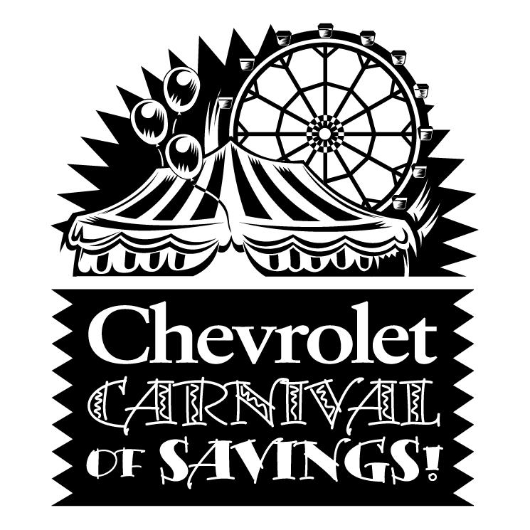 free vector Chevrolet carnival of savings