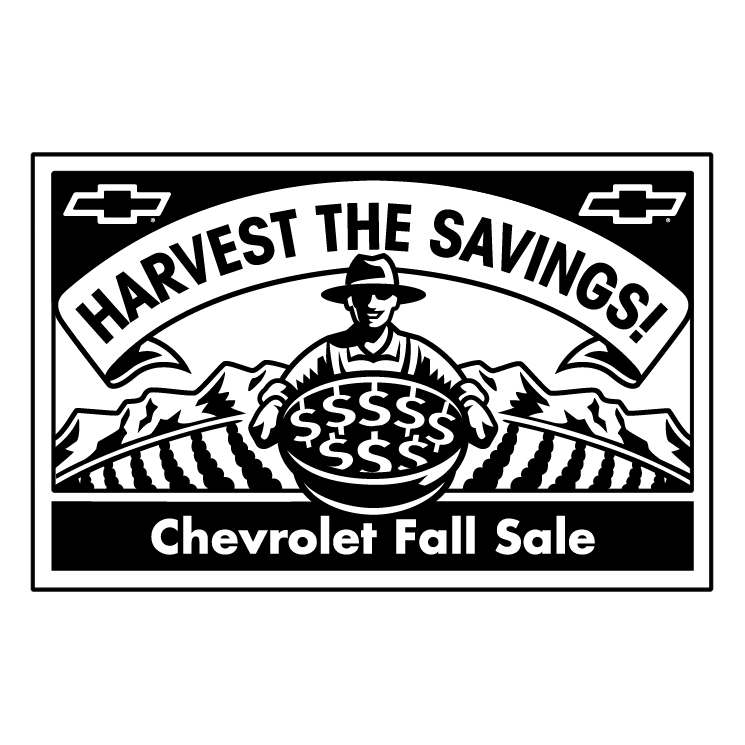 free vector Chevrolet fall sale 0