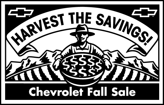 free vector Chevrolet Fall Sale logo2