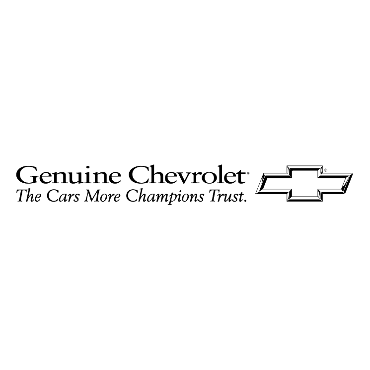 free vector Chevrolet genuine 0